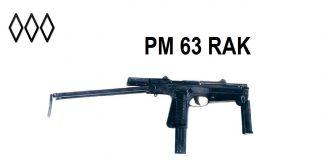 Polski pistolet maszynowy PM Rak wzór 63. WROTA 44